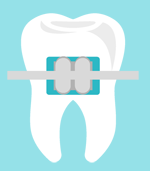 Dent avec bague