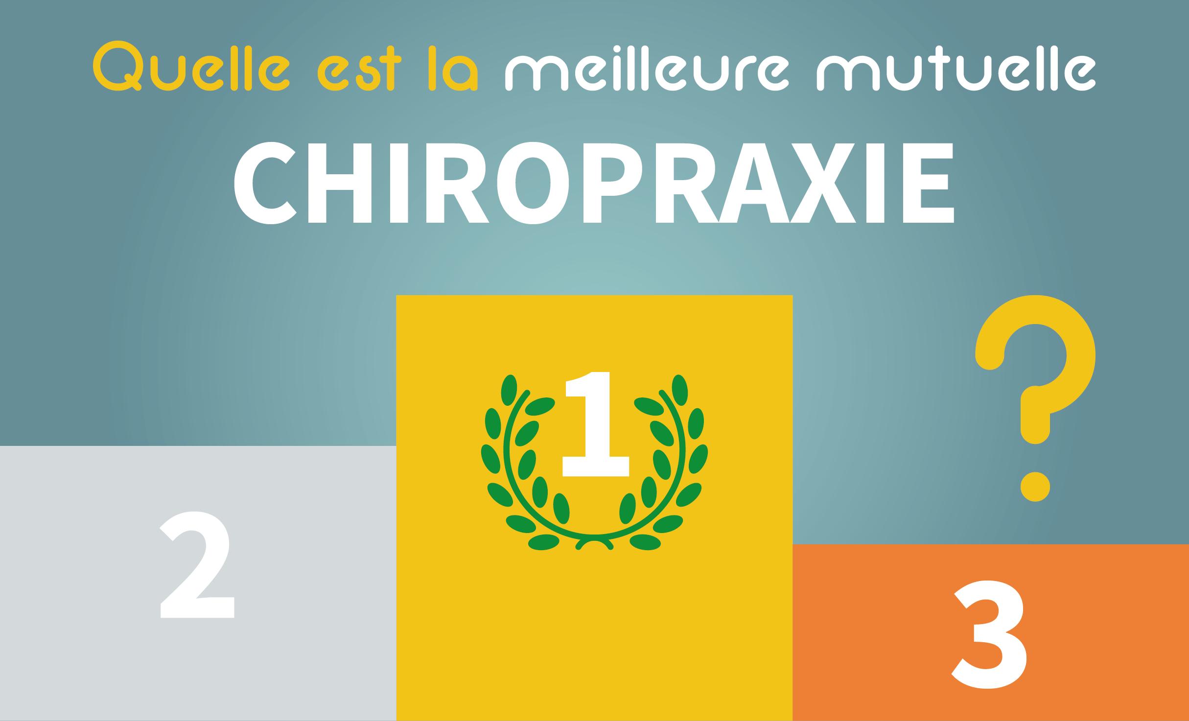 Faites votre propre classement des meilleures mutuelles pour la pratique de la chiropraxie