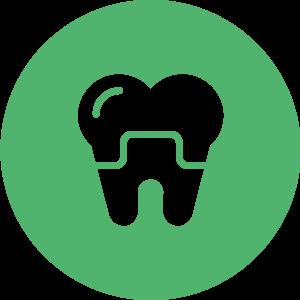 prothèse dentaire icône