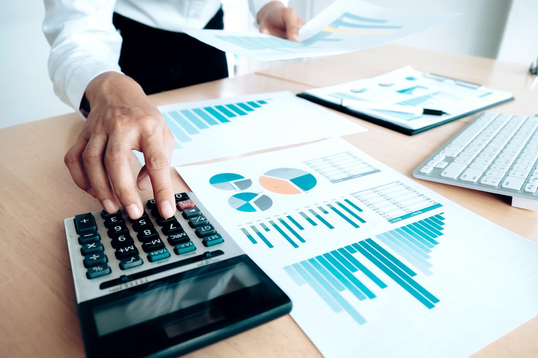 photo calcul pertes financières entreprise