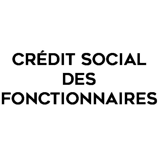 Crédit social des fonctionnaires logo