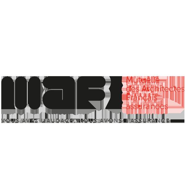 mutuelle des architectes français logo
